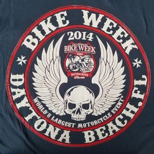 DAYTONA BEACH BIKE WEEK TSHIRT 2004